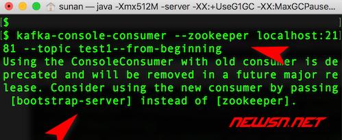 mac,大数据套装之kafka安装及使用 - 不再支持老的格式