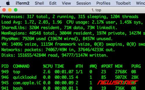 mac系统,terminal终端的一个可替代选择iterm2 - iterm2