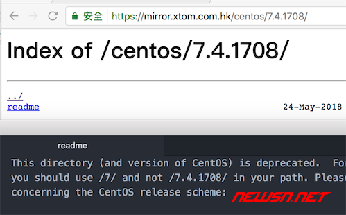 centos7.4如何升级到centos7.5 - centos74_empty