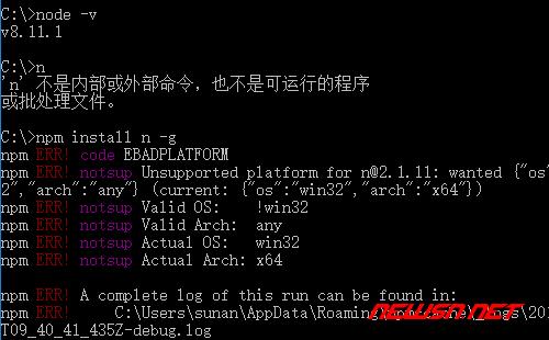 如何利用n轻松切换nodejs的版本 - n_不支持win
