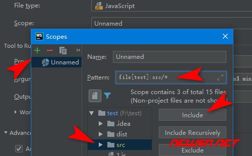 webstrom如何配置uglifyjs压缩js - 345