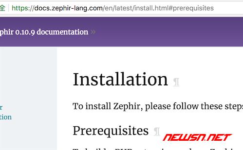 zephir开发环境如何搭建? - 001