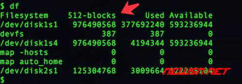 centos如何使用du命令查看文件大小? - mac_df