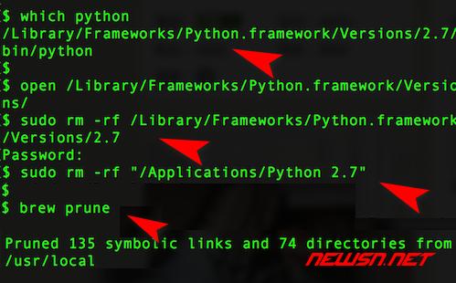 mac,如何卸载重装官方pkg版本python - 002