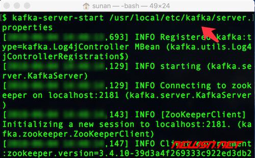 mac,大数据套装之kafka安装及使用 - 单独启动kafka