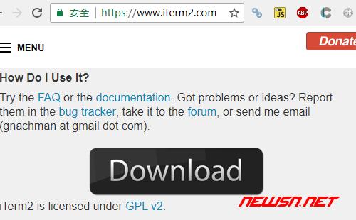 mac系统,terminal终端的一个可替代选择iterm2 - download
