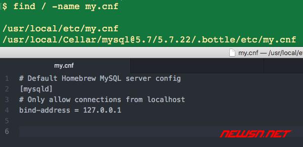 如何清理brew安装的mysql?mysql的数据文件在哪里? - mysql-mycnf