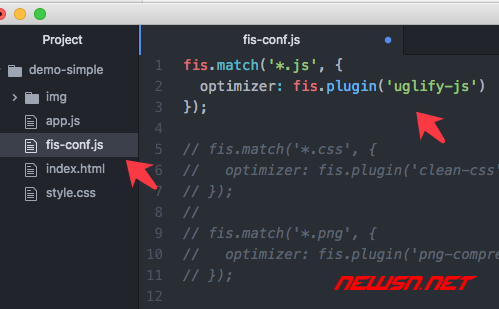 fis3配置之使用uglifyjs处理js文件 - fis3-config-js-optimizer