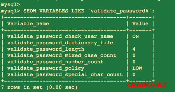 如何修改mysql8.0的root密码? - mysql_pass_rule
