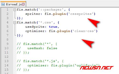 fis3配置之css文件处理方案:clean-css和cssspriter - fis3-config-css