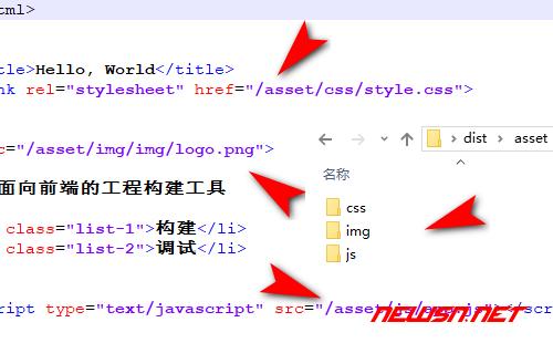 fis3配置文件之整理转移资源部署路径 - fis3-config1-效果