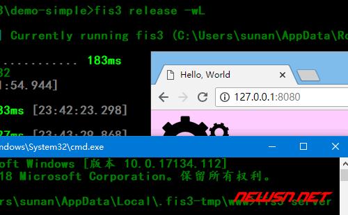 fis3设置之如何使用内置server - fis3-sever-wl