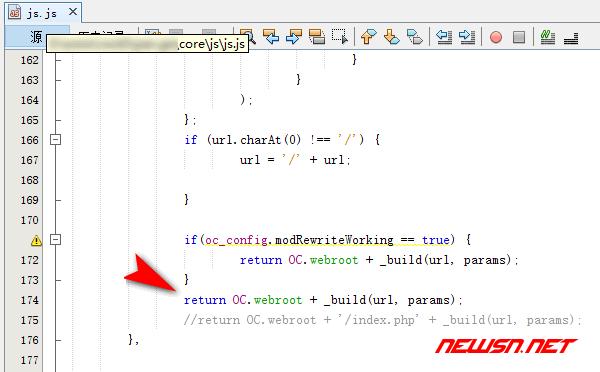 nginx环境,nextcloud如何美化url,去除index.php? - nextcloud_js