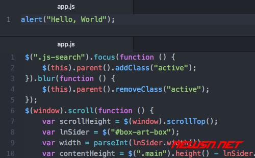 fis3配置之使用uglifyjs处理js文件 - fis3-config-appjs