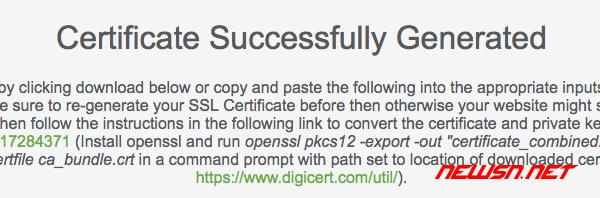 如何免费申请ssl证书?sslforfree免费证书申请攻略 - ssl_005