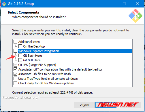window环境,如何安装git客户端 - git_install_2