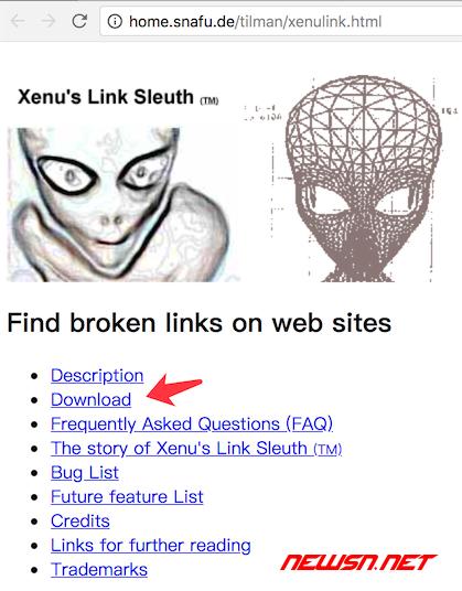 如何利用xenu检测网站异常资源,并制作地图xml文件 - 00