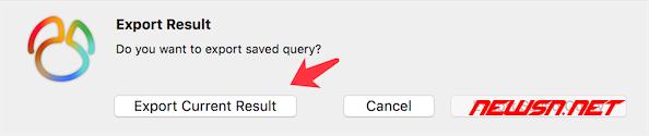 如何使用navicat导出数据集合为xls文件 - navicat_xls_010