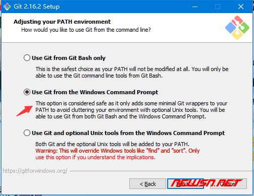 window环境,如何安装git客户端 - git_install_4
