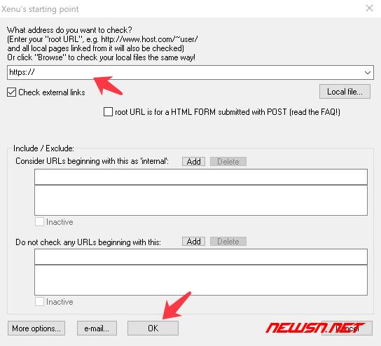 如何利用xenu检测网站异常资源,并制作地图xml文件 - 04