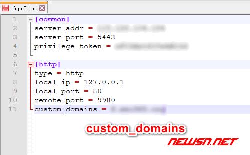 win10通过frp客户端内网穿透对外提供www服务 - 192