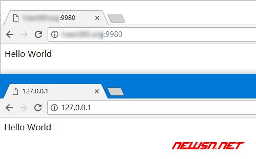 win10通过frp客户端内网穿透对外提供www服务 - 195