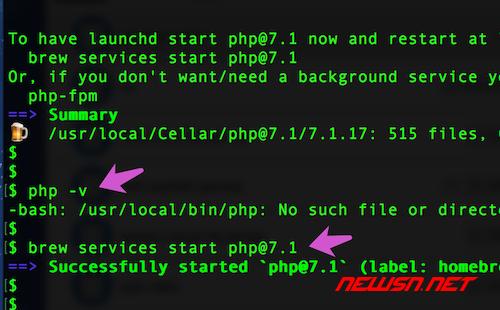 mac系统,如何通过brew降级php72到php71 - 002