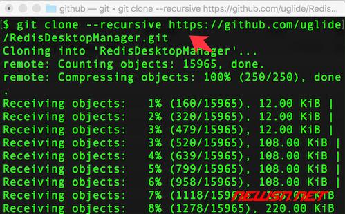 mac系统,如何利用qt编译redisdesktop - git_clone