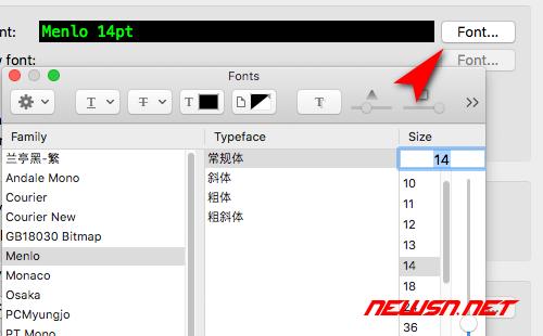 SecurtCRT如何全局更改界面字体 - 004