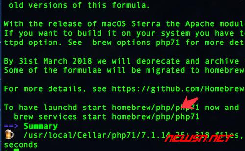 mac系统,如何通过brew降级php72到php71 - php71_003