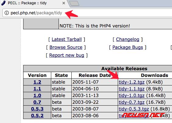 mac系统,编译php72的tidy模块 - 053