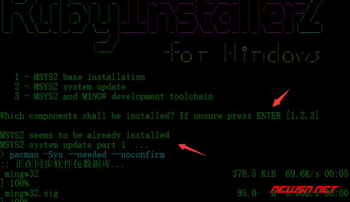 win系统安装ruby,为webstrom编译scss做准备 - 020