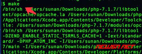 mac系统如何手工编译php72 - 004
