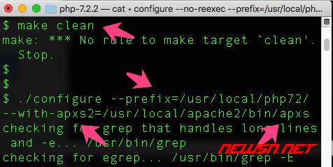 mac系统,编译apache的php7模块 - 000