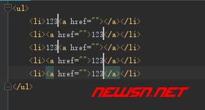 webstorm的几个快速输入代码的方法 - 123