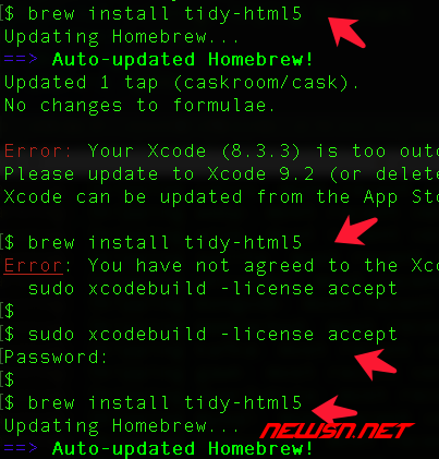 mac系统,编译php72的tidy模块 - 064