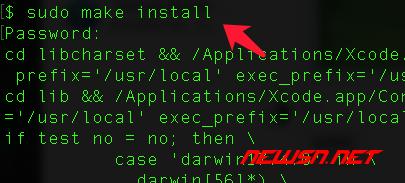 mac系统,编译php72的iconv模块 - 025