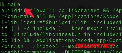mac系统,编译php72的iconv模块 - 024