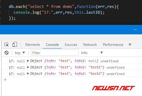 electron与sqlite,增删改查之select - sqlite_insert11