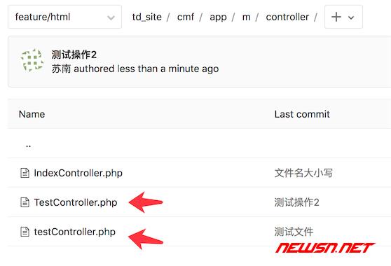sourcetree/git如何识别文件名大小写变动 - git_repo_double