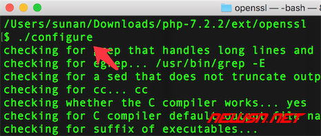 mac系统,编译php72的openssl扩展 - 010