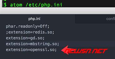 mac系统,编译php72的openssl扩展 - 054