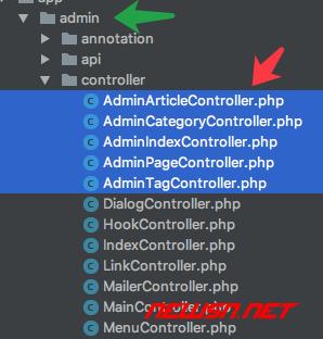 thinkcmf高级应用之分离前台及管理模块 - admin_fix_04