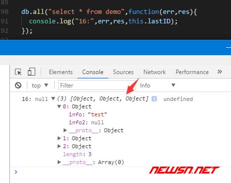electron与sqlite,增删改查之select - sqlite_insert10