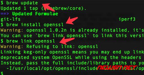 mac系统,编译php72的openssl扩展 - 070