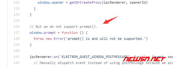 electron不支持prompt对话框怎么办? - electron2