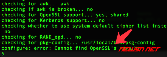 mac系统,编译php72的openssl扩展 - 004
