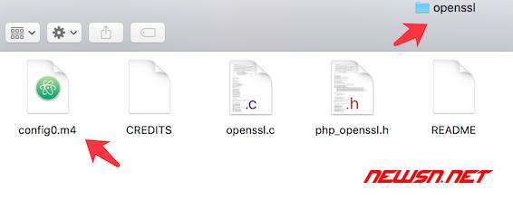 mac系统,编译php72的openssl扩展 - 003