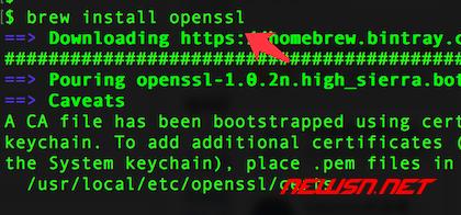 mac系统,编译php72的openssl扩展 - 012