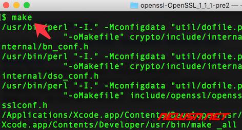 mac系统,编译php72的openssl扩展 - 042